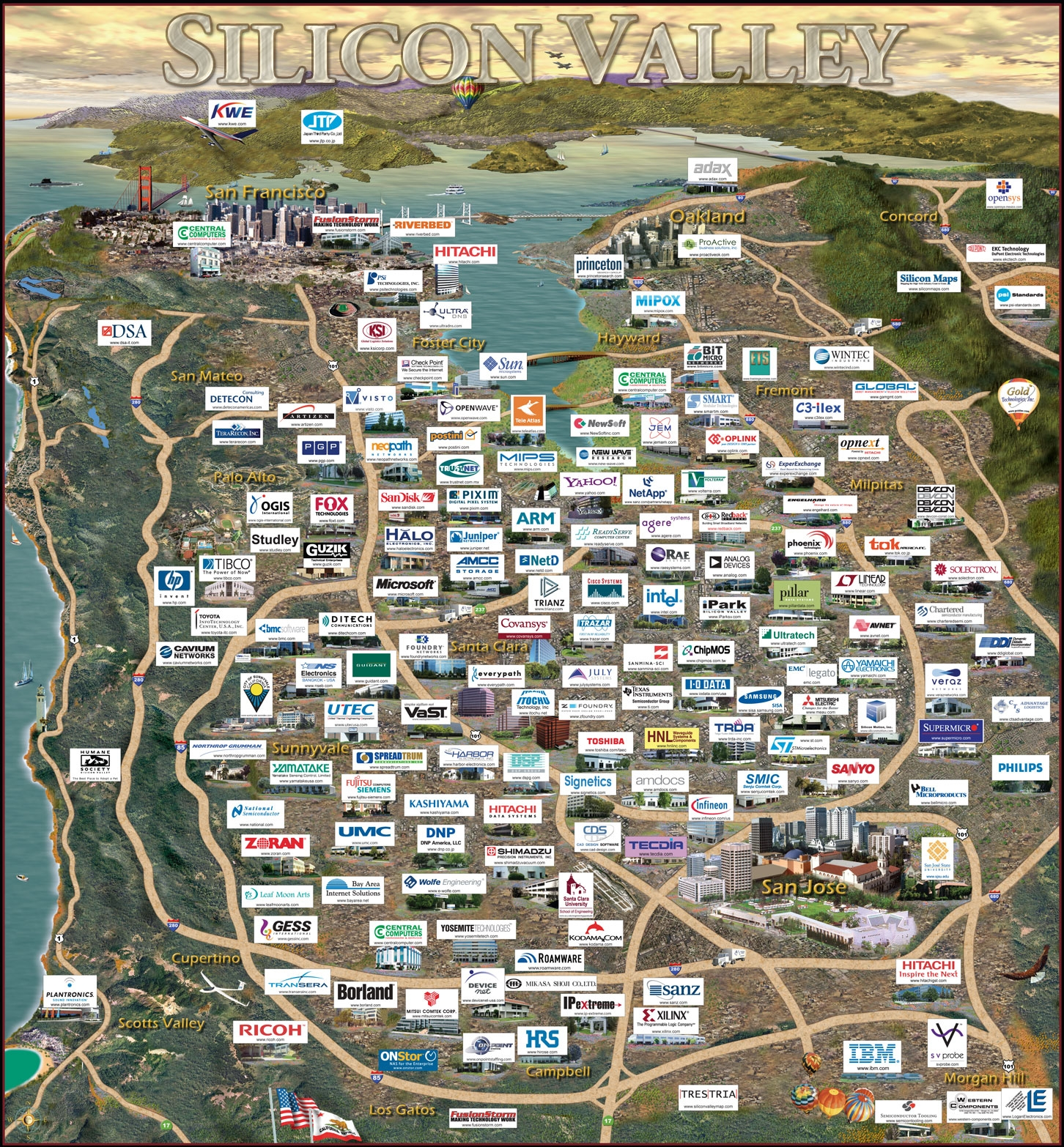 Silicon Valley (California - U.S.A.)
